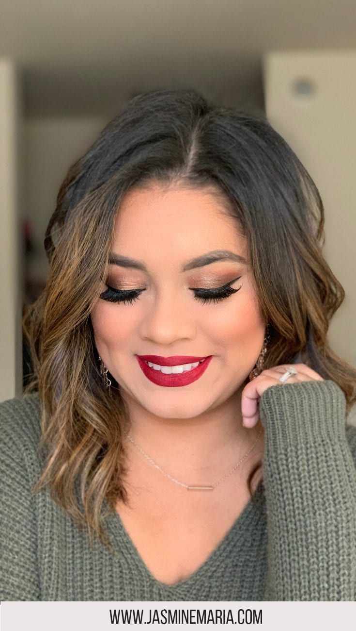 Red lipstick holiday glam female bloggers free for all pinterest