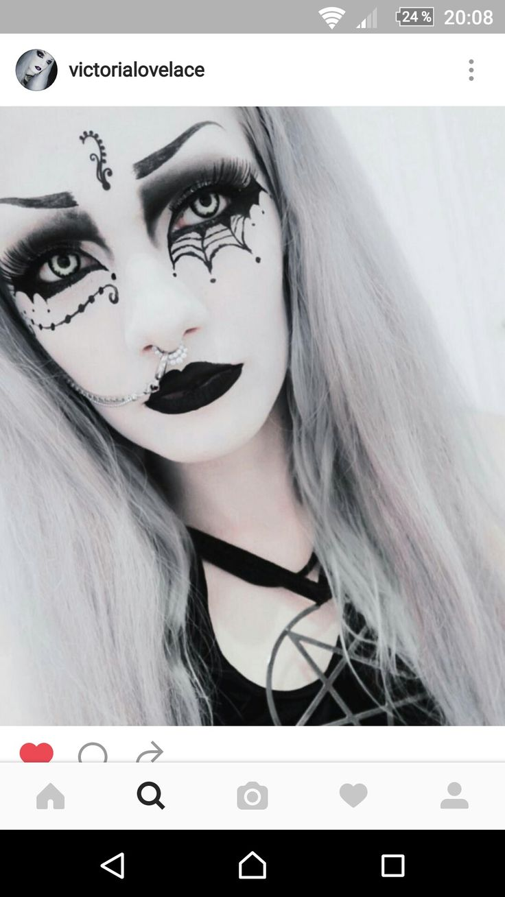 1000 ideas about pastel goth makeup on pinterest nu goth makeup -  Goth Makeup Tutorial See More From Pinterest Nose Chains Swoon