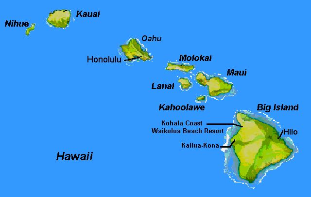 The Hawaiian Islands are being created by a large volcano.  They are right over a hot spot, and this hot spot is just about to create a new island named Lohi. -- Katie Garrett
