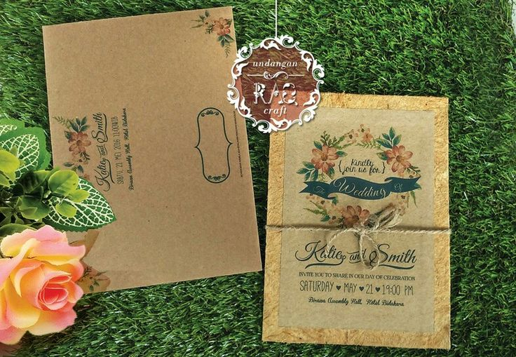 Undangan Nikah Handmade 087874240106