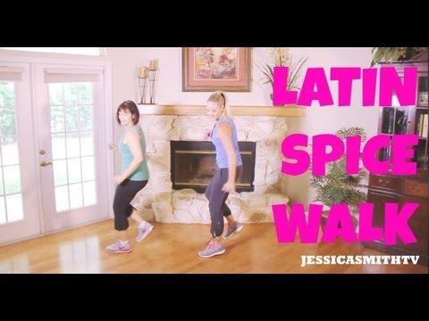 Walking, Exercise, Zumba: Full Length 30-Minute Walking Workout - Latin Spice Walk - YouTube