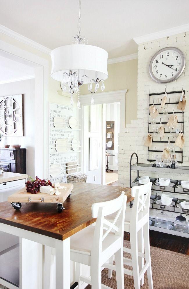 Fein Schienenbeleuchtung über Kücheninsel Bilder - Küchen Ideen ...