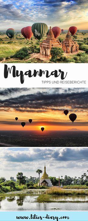 Myanmar Urlaub: Ihr träumt von einer Reise nach Myanmar in Asien. Dann haben wir die perfekten Reisetipps für diese Traumreiseziel für euch. Entdeckt die Hauptstadt Yangon, die schönste Natur, Tempel und Parks.