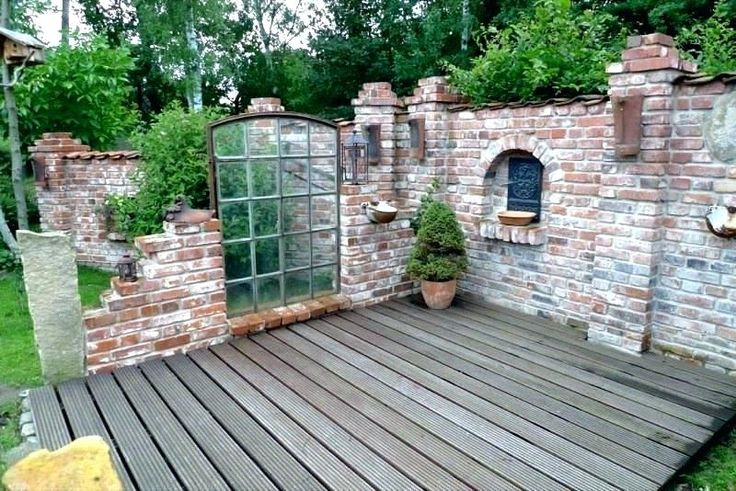 Nice Screening Garden DIY Build Fur Making Stone Wall Performing Best Ideas …