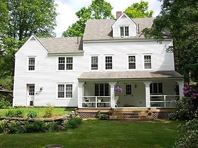 169 best images about farmhouse cottage exteriors on for Vermont farmhouse plans