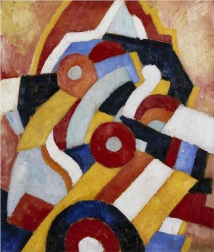 Marsden Hartley (1877 - 1943) | Abstract Art | Abstraction - 1914