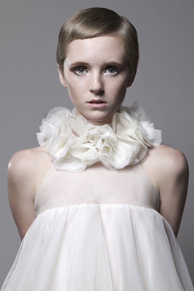 Babydoll dress - collar *love*