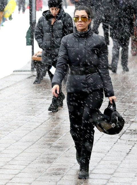 Kardashian Family Go Skiing Without Newly Engaged Rob Kardashian: Photos - Us Weekly