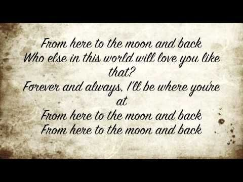 From Here to the Moon and Back - Dolly Parton [Joyful Noise] // not big on the guy's part... but i'd love to hear this song playing at my wedding. <3