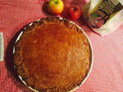 Mindenmentes almás pite (paleo, vegán, tojásmentes, tejmentes, gluténmentes, cukormentes, élesztőmentes) ~ Éhezésmentes Karcsúság Szafival