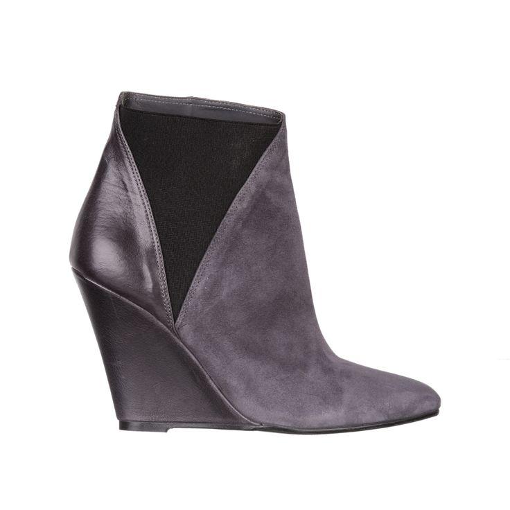 grey wedge shoes (zeppe)  - fiorifrancesi