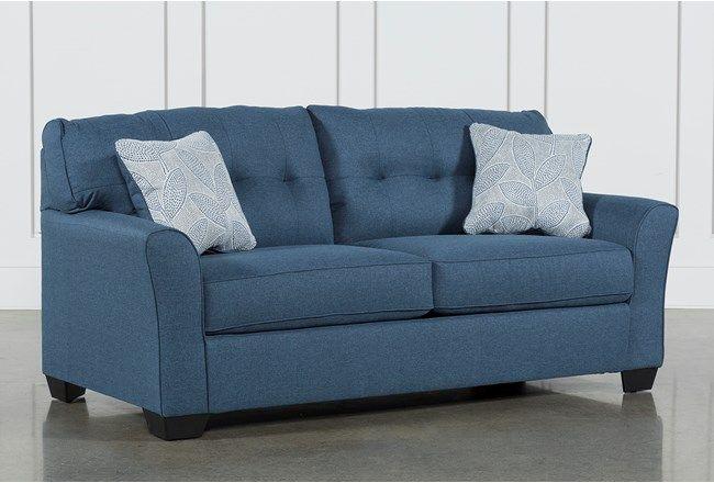 Jacoby Denim Full Sofa Sleeper Denim Sofa Leather Sleeper Sofa