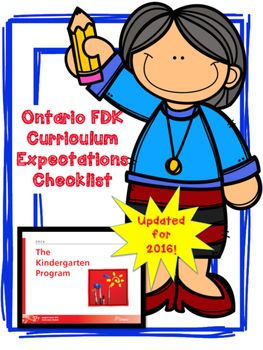 Get ready! The new 2016 Ontario Kindergarten Curriculum is HERE! I am so…