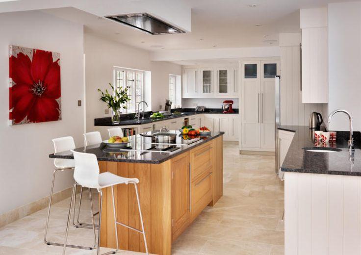 harvey jones kitchen with island kitchen island artwork and bar stools