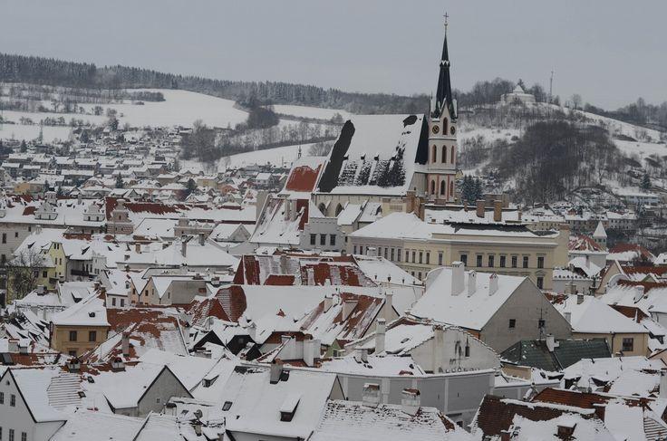 Český Krumlov Winter