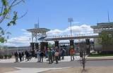 Spring Training for the Texas Rangers Cactus league in Surprize, AZ