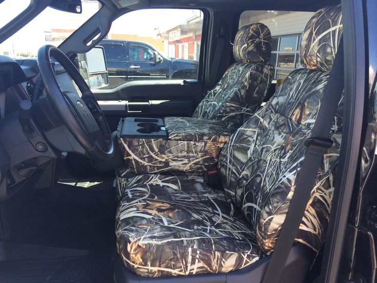 2014 Ford F-250 Realtree Max-4 Camo/Duck Camo Front Row Seat Covers