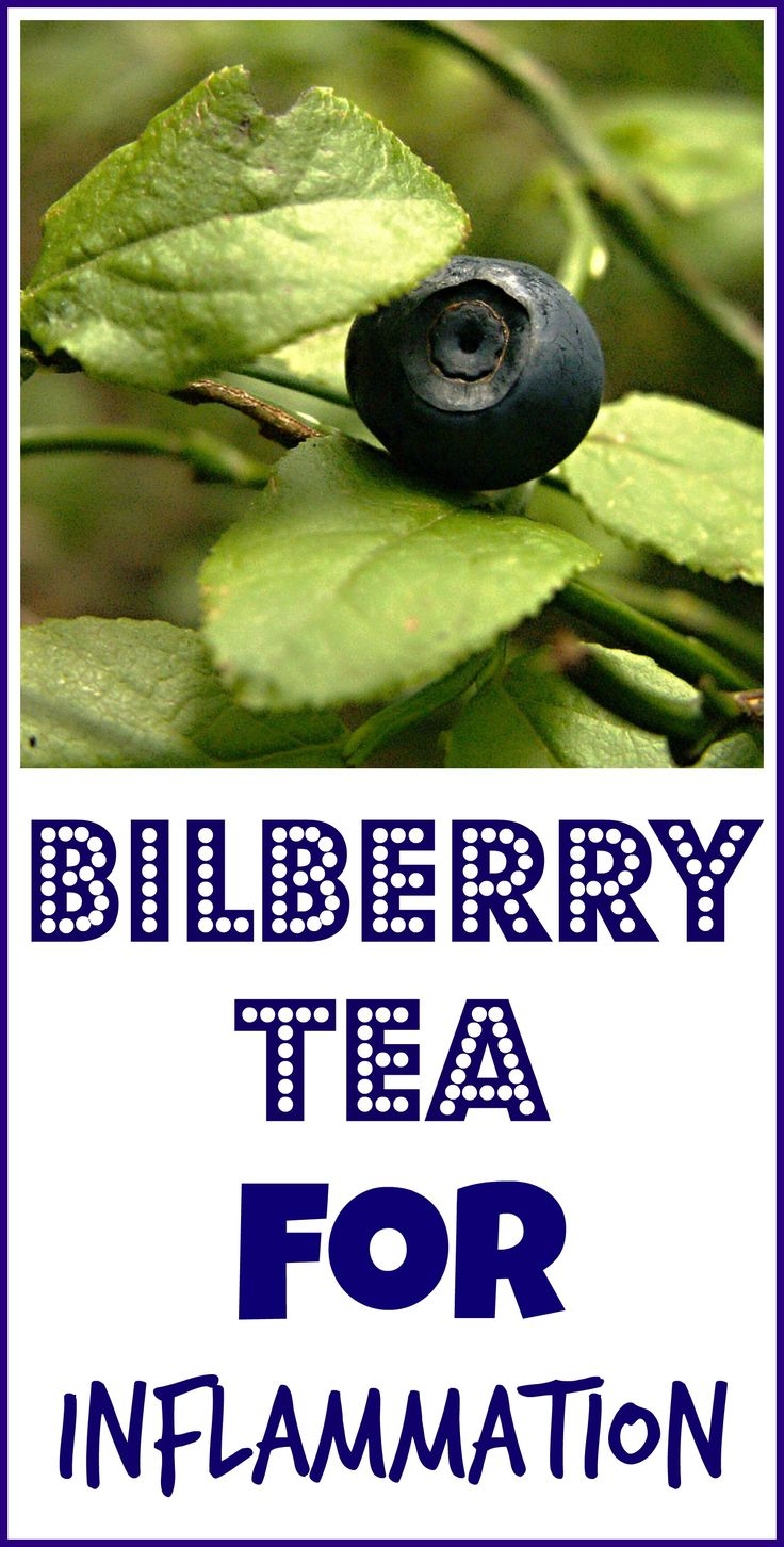 Bilberry tea is one of the many natural remedies I use to help control my chronic nerve inflammation.