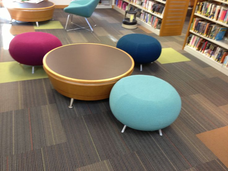 Teen | Library Furniture | J.P. Jay & Associates--I don't know how functional this would be but it looks pretty sweet.