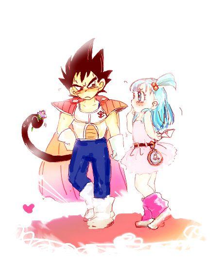 It39s movingvegeta is listening to his little daughter vegeta - Goku e bulma a letto ...
