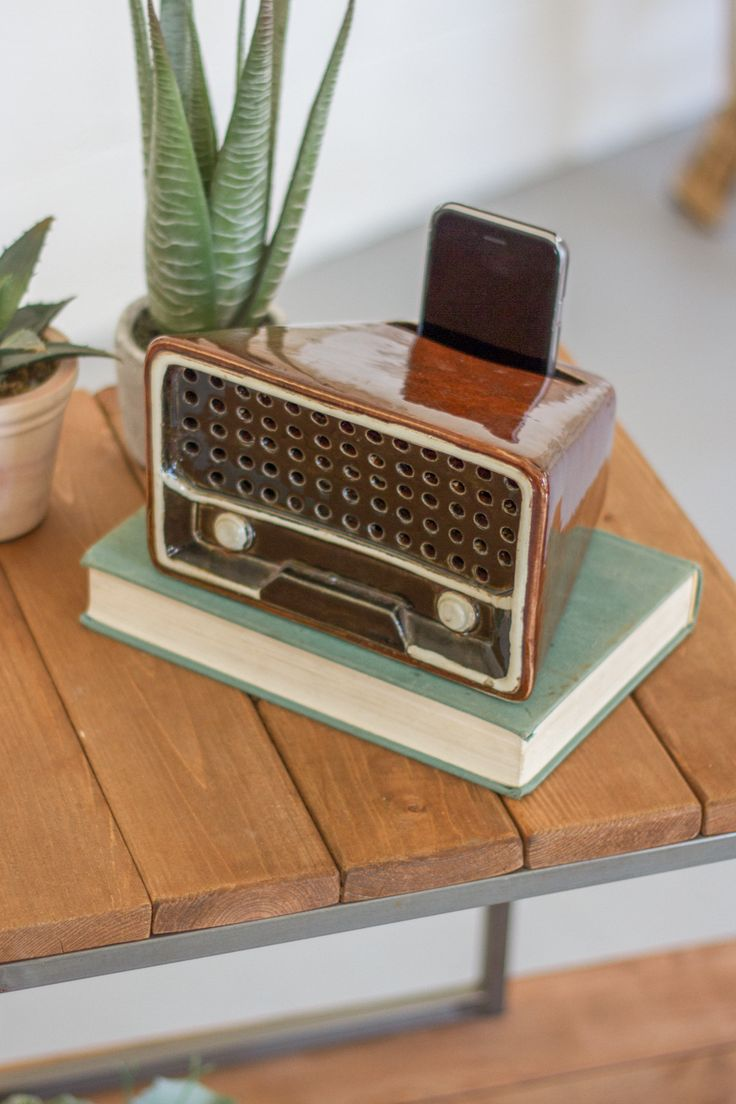 Ceramic Transistor Radio Smartphone Speaker