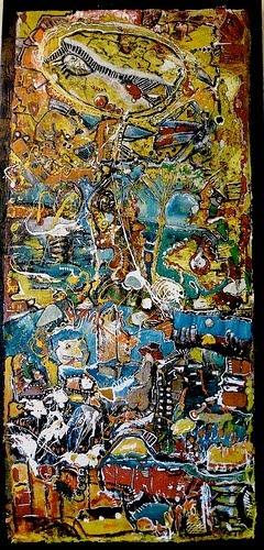Pintura del Artista Plástico Uruguayo radicado en Amsterdam Martín Silva.