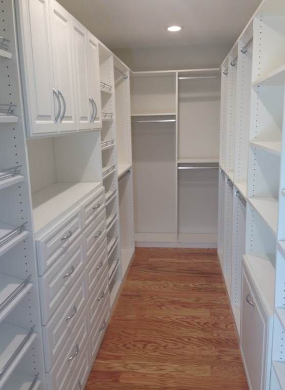 A Beautiful All White Walk In #closet By Tailored Living Of West Orange  County