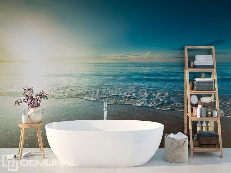 In die meerestiefe fortschwimmend fototapeten fur - Wandbilder fur badezimmer ...