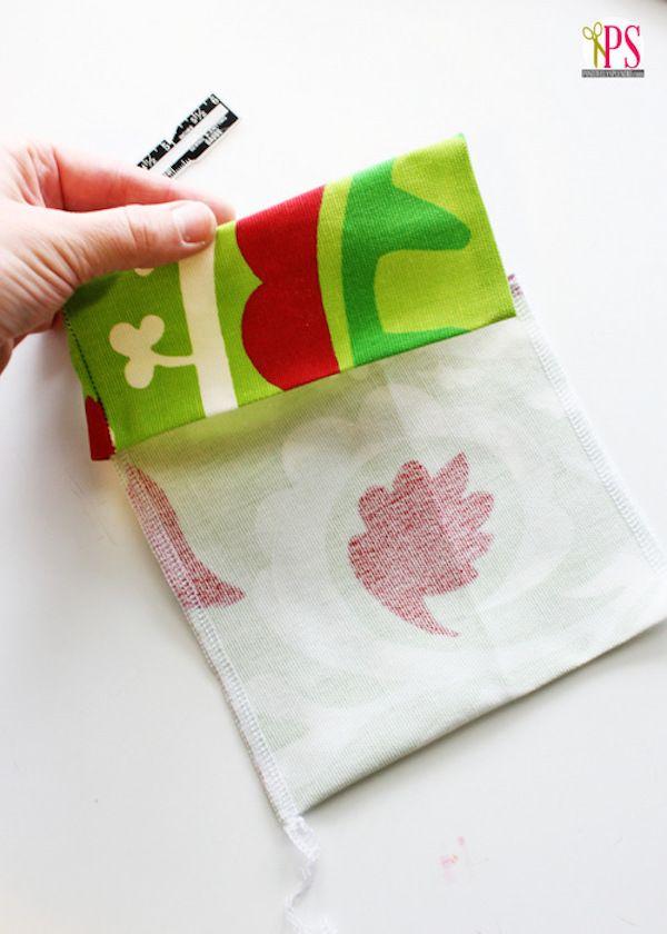 Manualidades Con Tela Envolver Regalos De Navidad Fabric Gifts Fabric Gift Bags Sewing Patterns Free Bag