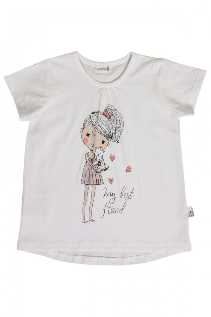 T-skjorter - Claire Mini - T-skjorte med trykk