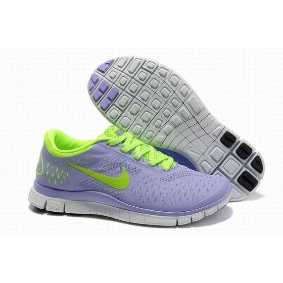 Nike Free 4.0 V2 Women Purple & Green (Love these lavender Nikes!)