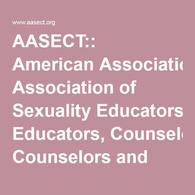 American association counselor educator sex therapist