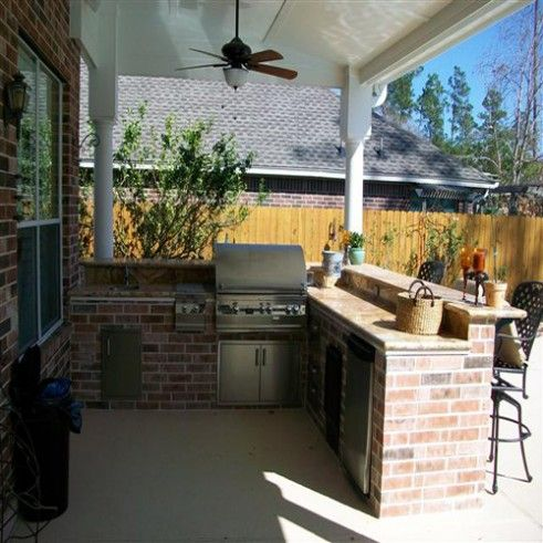 liking the simplicity of this outdoor kitchen outdoor kitchen patio simple outdoor kitchen on outdoor kitchen easy id=40558
