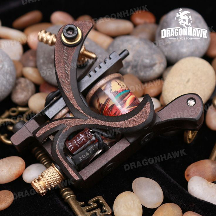 Compass Tattoo Machine Paul Shader 10 Wraps Steel Frame [WQ2083+WS124-3(0.5 DHL)] - US$159.00 : Dragonhawk tattoo supplies, tattoo kits,tattoo machines for sale global form tattoodiy.com