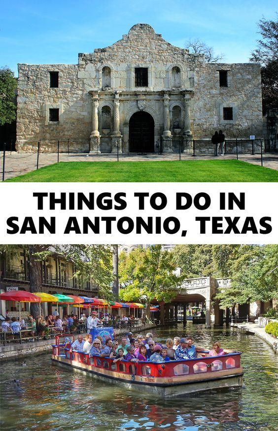 Things to do in San Antonio, Texas. Including such attractions as The Alamo, River Walk, and El Mercado. Click for more info or pin for later!