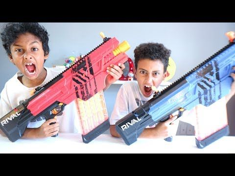 NERF GUN RIVAL - ATTACK COCA COLA - GROSSERY GANG - PRINGLES CHIPS  NERF RIVAL Includes blaster, 40-round magazine, 40 rounds, and instructions Fully motorized blaster Unleash rapid-fire blasting Includes easy-load, 40-round magazine and 40 high-impact rounds Experience ultimate precision and intense competition https://www.amazon.ca/NERF-Rival-Khao...  ULTIMATE FONDUE CHALLENGE!!! 🔴https://youtu.be/6M-Zgo9DB-8 SPICY PIZZA VS SOUR PIZZA CHALLENGE!! SPICY CANDY vs SOUR CANDY!