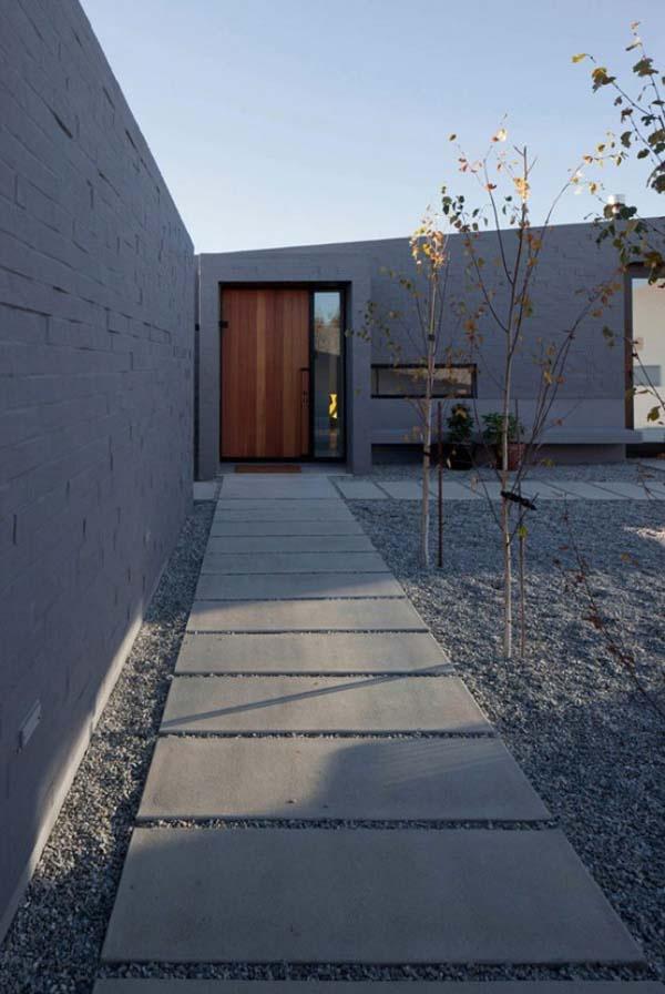 Garden Modern Home Design Idea designed by Glamuzina Paterson
