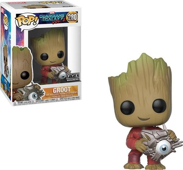 Guardians of the Galaxy 2 - Groot (with Cyber Eye), FYE exclusive
