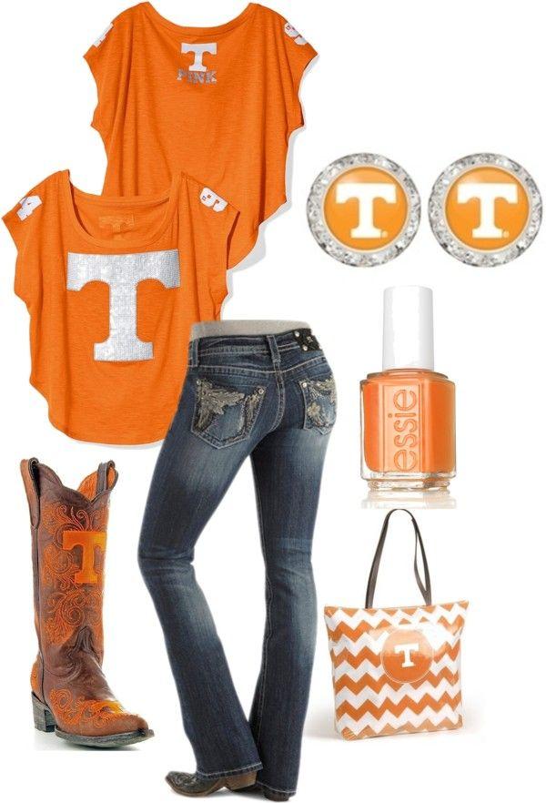"""""""Tennessee Volunteers Flirties"""" by flirties on Polyvore"""