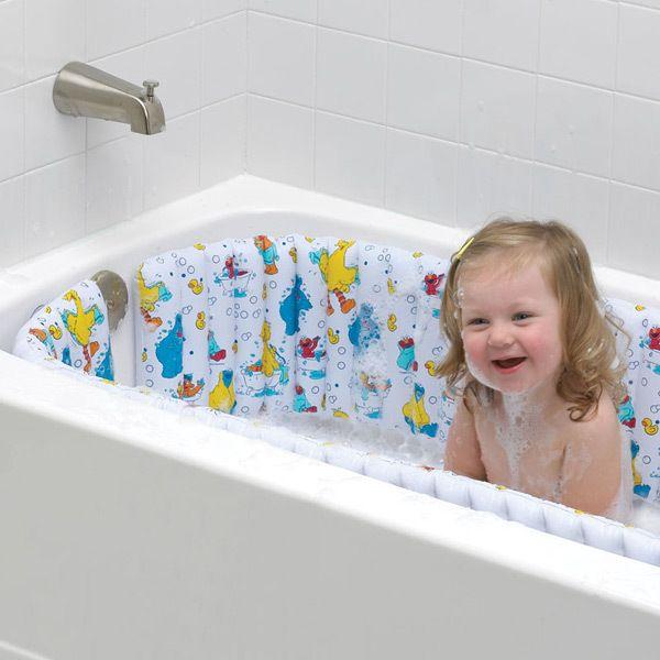 Sesame Street Inflatable Bath Tub Bumper Https