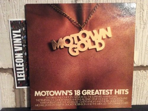 Motown Gold Compilation LP STML12003 Tamla Soul R&B 70's 60's Music:Records:Albums/ LPs:R&B/ Soul:Motown