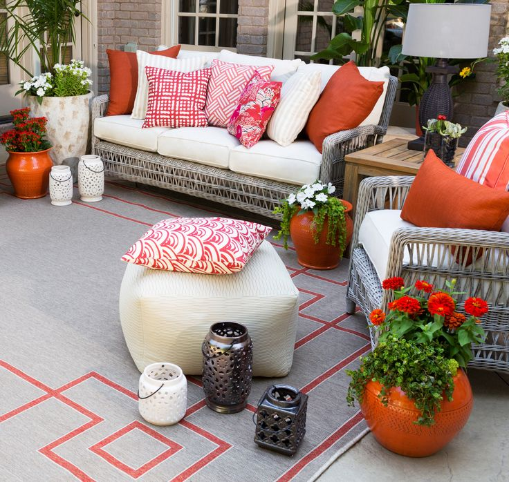 Bring The Party Outside This Summer Surya S Collection Of Outdoor Safe Rugs Accessories Make
