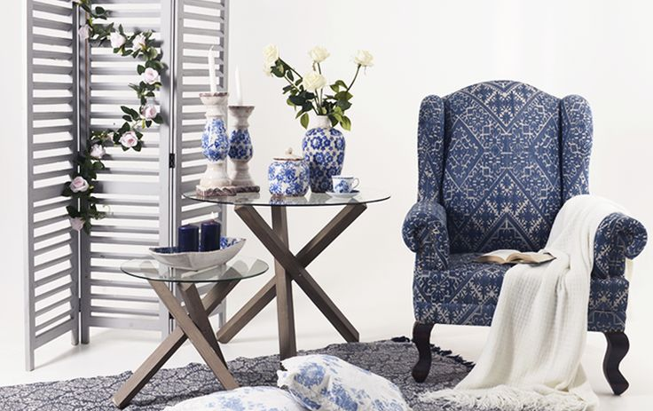 Month's inspiration May 2016 | A home in blue and white!