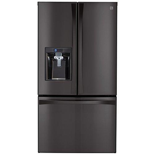 Kenmore Elite 28.7 Cu. Ft. Black Stainless Steel Refrigerator