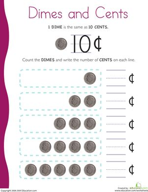17+ images about Math-counting money on Pinterest | Coins, Count ...