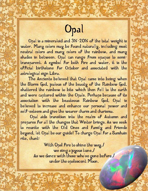 Opal by minimissmelissa.deviantart.com on @deviantART