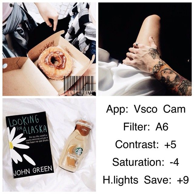 VSCO Cam Filter Settings for Instagram Photos | Filter A6