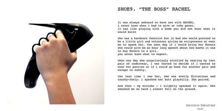 12 paires de chaussures en souvenir de ses ex compagnes Photo