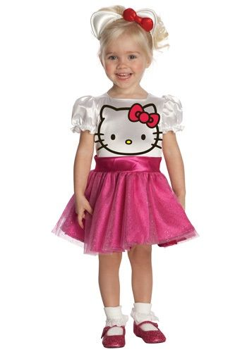 Toddler Hello Kitty Costume.