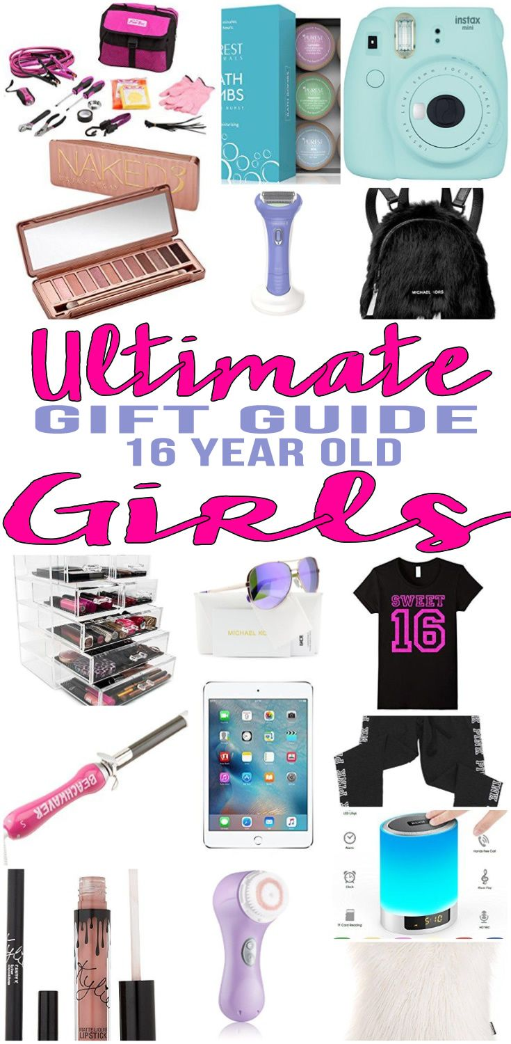 959c4c61c41 BEST Gifts 16 Year Old Girls! Top gift ideas that 16 yr old girls will  love! Find presents   gift suggestions for a girls 16th birthday, Christmas  or just ...